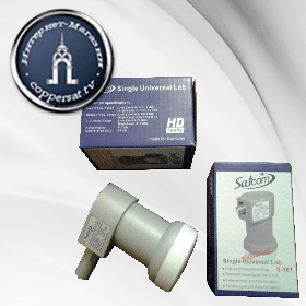 Конвертор Satcom Single Universal LNB S-107