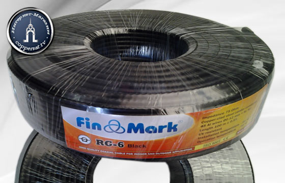 Купить FinMark RG-6 Black на coppersat.tv тел. 0956577176 доставка по Украине.