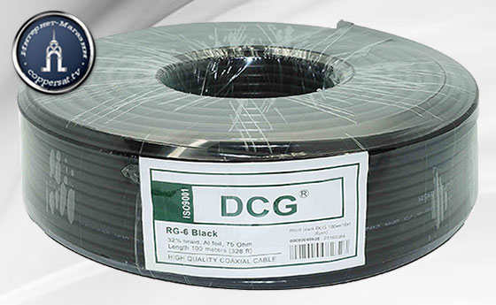 Купить DCG RG-6 White на coppersat.tv тел. 0956577176 доставка по Украине.