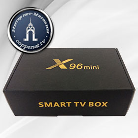 Купить X96 mini SMART TV BOX (2/16 Gb) на coppersat.tv тел. 0956577176 доставка по Украине.
