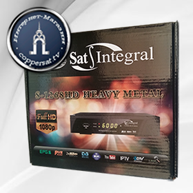 Купить Sat-Integral S-1268 HD HEAVY METAL на coppersat.tv тел. 0956577176 доставка по Украине.