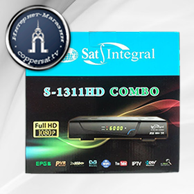 Sat-Integral S-1311 HD COMBO на coppersat.tv тел. 0956577176 доставка по Украине.